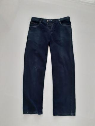 Mens Black Jeans Size 34