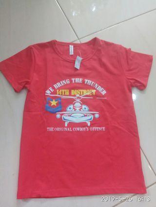Kaos anak BARU size 5y