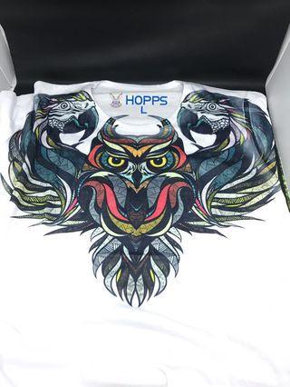 White shirt 3D owl