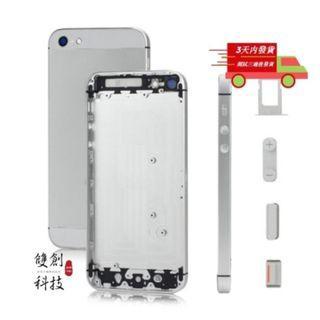 🍎iPhone5全系列後蓋🍎適用於iPhone5 5S iPhone SE 中框 後蓋 背蓋 背蓋總成帶配件贈電池膠