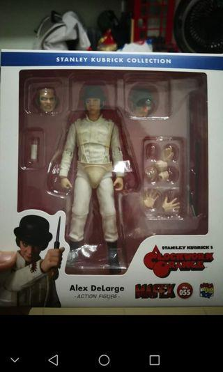 MAFEX ALEX DE LARGE CLOCKWORK ORANGE