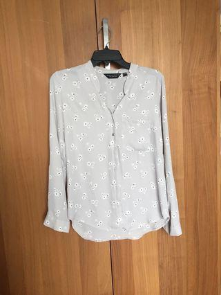 [Dorothy Perkins] Pattern chiffon shirt