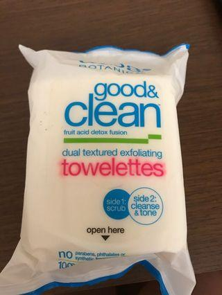 🚚 Alba Botanica Good and Clean Towelettes