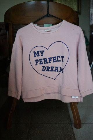 Sweatshirt 'Zara girls annual collection' original from store (PVJ)