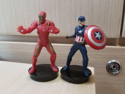 2款鐵甲奇俠 美國隊長:英雄內戰 Ironman Mark46 Captain America 3: Civil War Figure 底座 公仔 Marvel