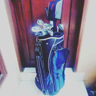 Golf Set Dan Bag Komplit hampir baru