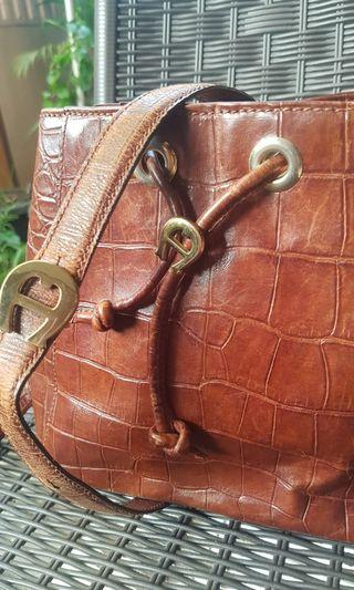 Aigner authentic small leather bag