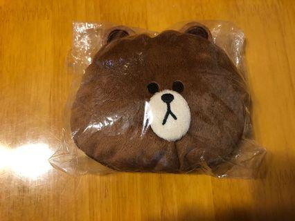 日本Line Friends coin pouch wallet purse 錢包 散紙包