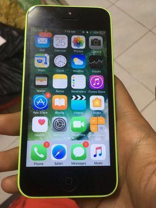 iPhone 5C Green 16GB LTE