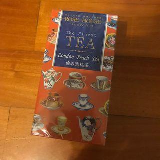 古典玫瑰園 倫敦蜜桃茶 一盒24包