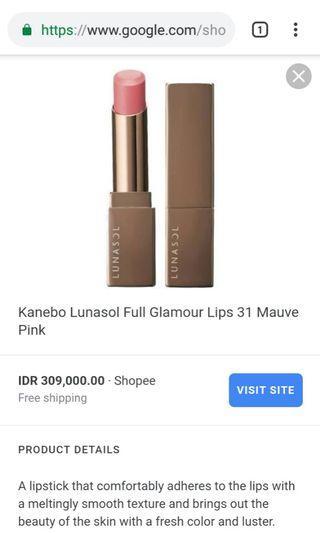Lipstick lunasol