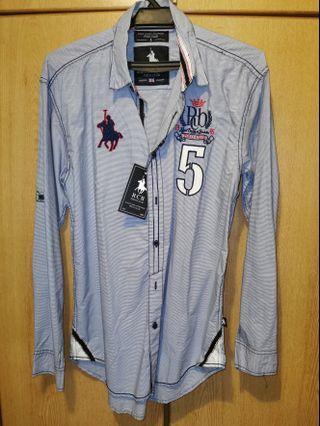 Brand New RCB Long Sleeve Polo Club Shirt