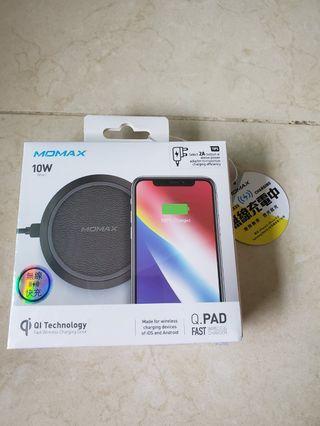 全新Momax Q.pad 無線快充 10W