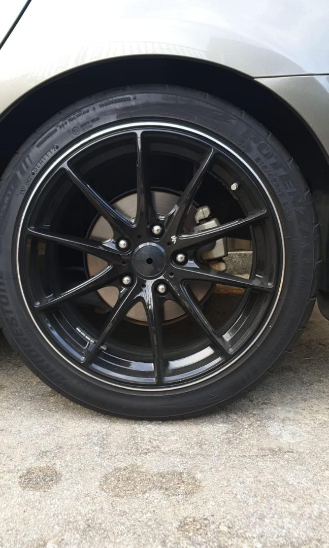 17 inch rim and tyre for sale !