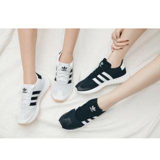 現貨 iShoes正品 Adidas FLB W 女鞋 黑 白 李聖經著用 網布 透氣 經典 日韓 運動鞋 BB5323