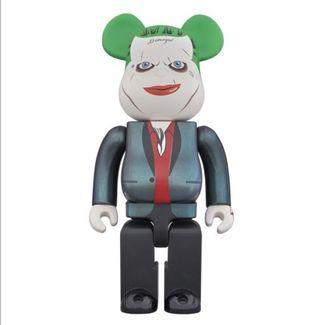 Bearbrick 1000% Joker 小丑 Suicide Squad 潮人 潮物 潮牌 Bear Be@rbrick Toy Figure Art Design Rabbrick R@bbrick Nyabrick Ny@brick 模型 擺設 收藏品 玩具 禮物 生日禮物