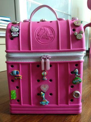 Pink Crocs Bag