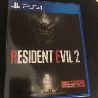 PS4 Resident evil 2:remake [R3]