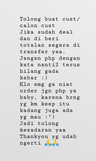 READ AND BE SMART BUYER