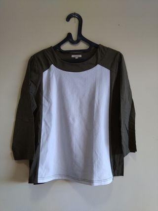 Et Cetera Baju Lengan 3/4 Size M #mauvivo