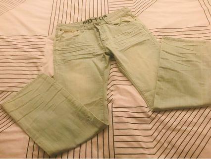 Industrie jeans light green
