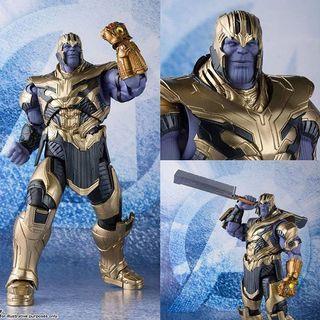 日版 shf Thanos Avengers End Game 滅霸