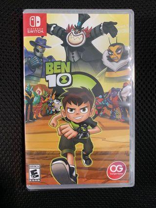 Nintendo switch Ben10