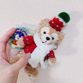 🚚 東京迪士尼達菲聖誕節限量站立吊飾