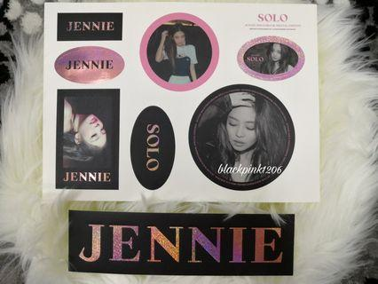 [WTS] BLACKPINK JENNIE STICKER SOLO PHOTOBOOK SPECIAL EDITION