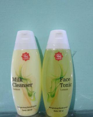 Viva Milk Cleanser and face tonic