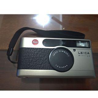 🚚 徠卡 LEICA minilux 40mm F2.4 定焦大光圈 AF相機 9成新