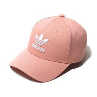 現貨 iShoes正品 Adidas Trefoil 帽子 男女款 粉 老帽 棒球帽 三葉草 基本款 經典 DV0173
