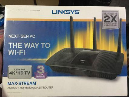 Linksys AC1900 wireless router BNIB