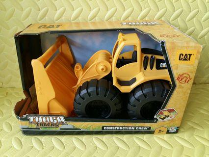 CAT Tough Tracks Construction Crew - Front Wheel Loader Vehicle Toy