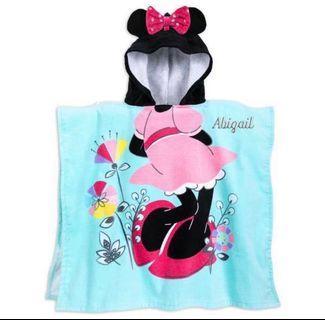特價!Disney 小童 沙灘 毛巾連帽 美國直送