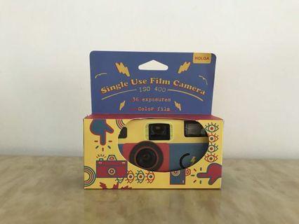 holga 菲林相機 iso 400 color 36films