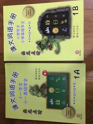 🚚 Primary 1 Chinese word and phrase book1A&1B-画龙点睛