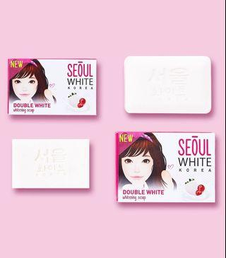 Seoul White Double Whitening Soap 60g
