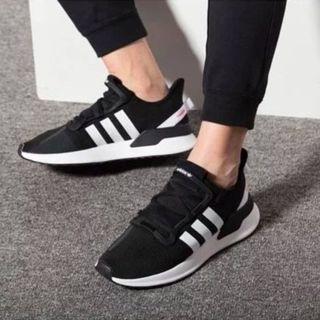 現貨 iShoes正品 Adidas U_Path Run 情侶鞋 女鞋 男鞋 黑白 網布 運動鞋 慢跑鞋 G27639