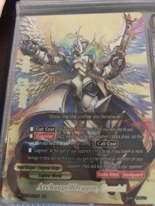Buddyfight Archangel Dragon Gavriel
