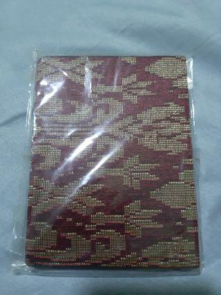 BN Songket Passport Cover