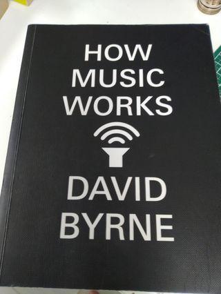 David Byrne 音樂書
