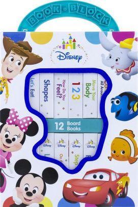 Disney book block - 12 sturdy board books