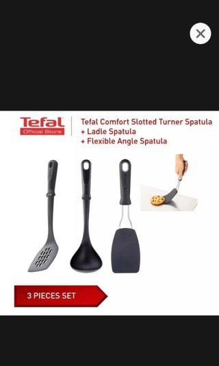 Tefal 3pcs utensil + FREE post