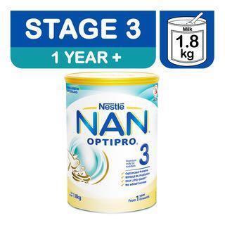Nestle Nan Optipro Toddler Milk Formula - Stage 3