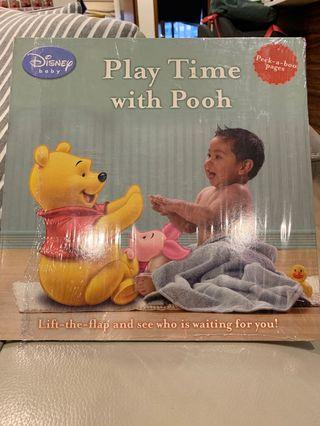 Disney baby play time with pooh
