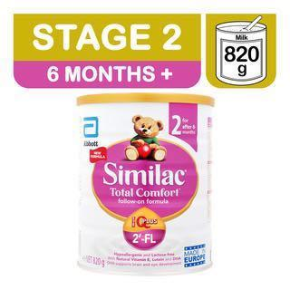 🚚 Abbott Similac Total Comfort Follow On Milk Formula - Stage 2