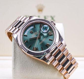 🚚 Rolex Day Date 40mm - Anniversary dial