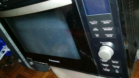 "Start不着, 其它掣都着…新一樣Panasonic燒烤微波爐 NN DF383B(Start掣不能用. 高手極品)大興花園交收(屯門站要先入50$)Panasonic Microwave(Like New but NOT work)All switches can ON except ""Start"", so DOESNT work, deposit.50$.if.tradeTuen.Mun.station, NO.deposit.needed.if.trade in.Tai.Hing.Gardens"
