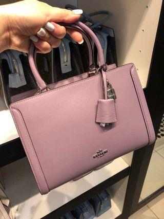 Coach Small Zoe Carryall in Refined calf leather